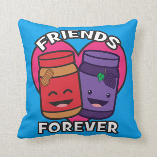 Friends Forever - Peanut Butter And Jelly Kawaii Cushion