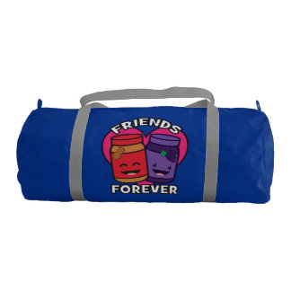 Friends Forever - Peanut Butter And Jelly Kawaii Gym Bag