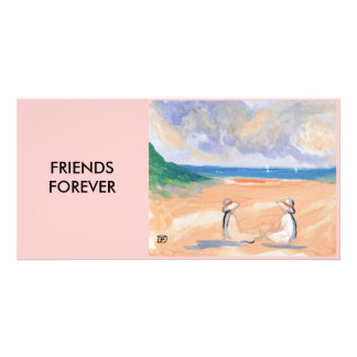 FRIENDS FOREVER PHOTO CARD TEMPLATE