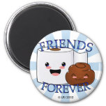 Friends Forever Poo and TP Magnet