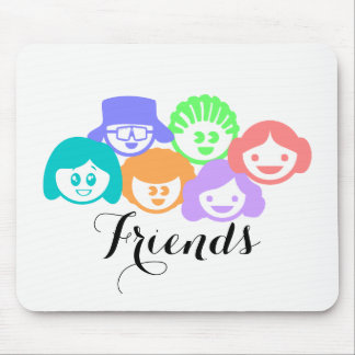 """Friends"" Friendship, Mouse Pad"
