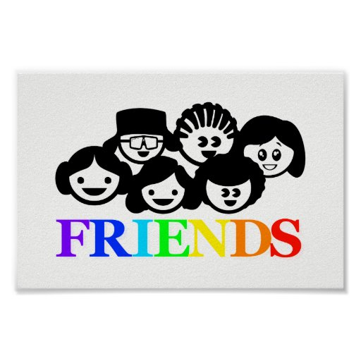 """Friends"" Friendship, Poster"