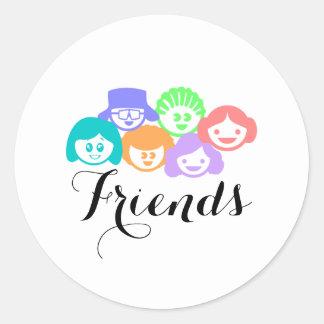 """Friends"" Friendship, Pretty Stickers"
