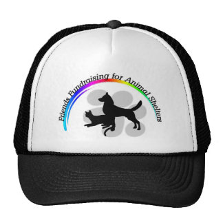 Friends Fundraising for Animal Shelters Cap Mesh Hats