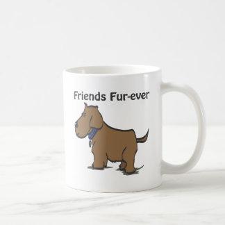 Friends Fur-ever! Basic White Mug