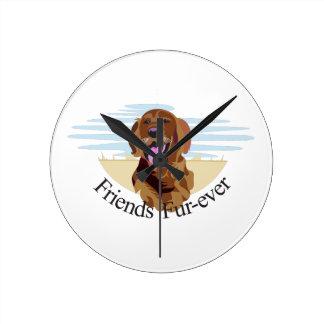 Friends Fur-Ever Clocks
