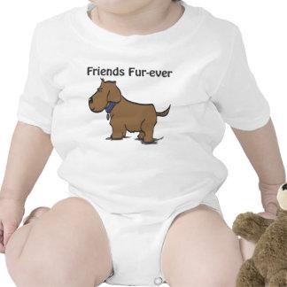 Friends Fur-ever Infant Creeper