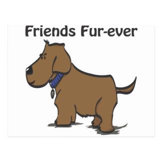 Friends Fur-ever! Postcard