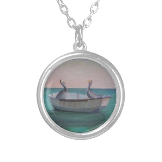 FRIENDS IN A DINGHY Necklace