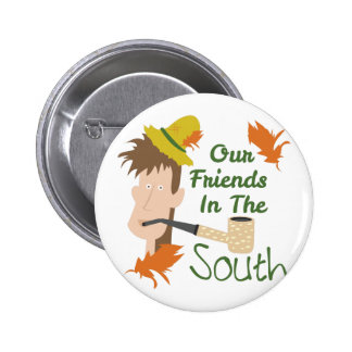 Friends In The South 6 Cm Round Badge