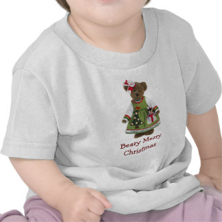 Friends Make the Best Gifts Beary Merry Christmas Tee Shirt