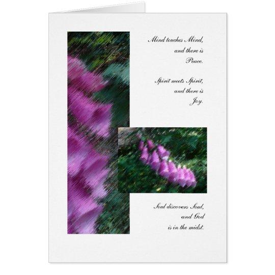 Friends: Mind, Spirit, and Soul Card