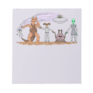 Friends No Matter The Differences Notepad