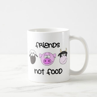 Friends Not Food Animal Mug
