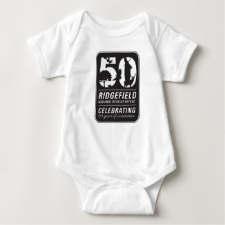 Friends of RNWR 50th Anniversary Baby Bodysuit