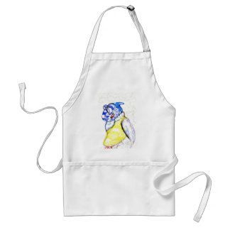 Friends of the feather aprons