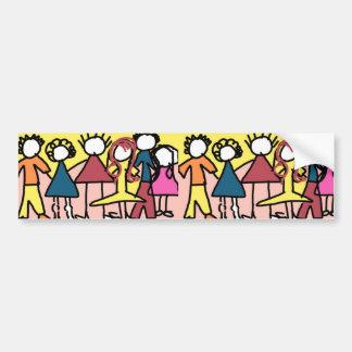 Friends Of The Heart Bumper Sticker