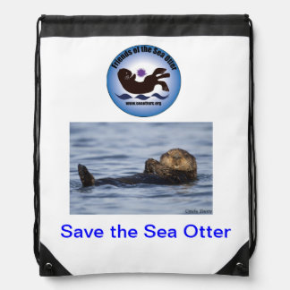 Friends of the Sea Otter Backpack #2