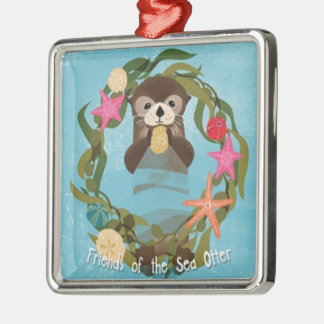 Friends of the Sea Otter Holiday Ornament