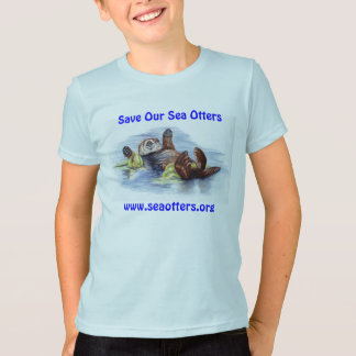 Friends of the Sea Otter Kid's TShirt