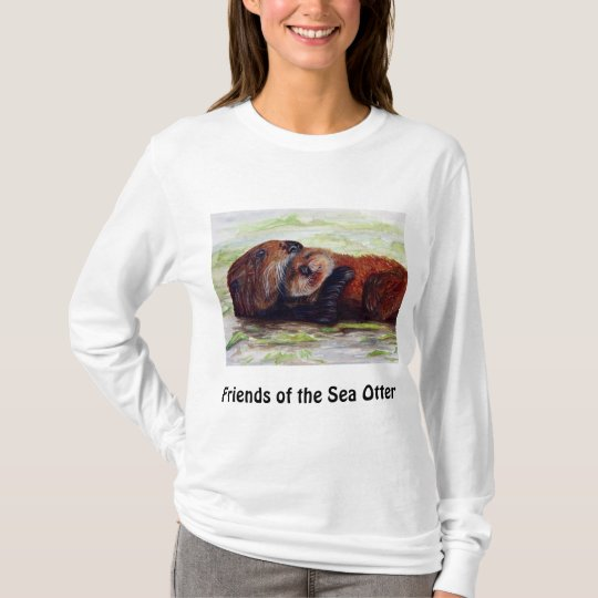 Friends of the Sea Otter Long Sleeve Shirt
