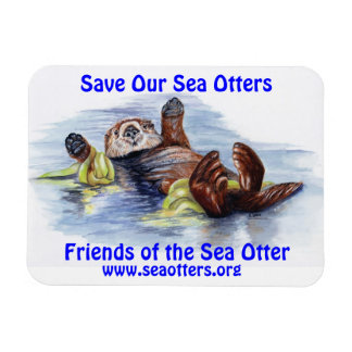 Friends of the Sea Otter Magnet