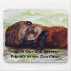 Friends of the Sea Otter Mousepad #2