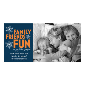 Friends Personalized Photo Card