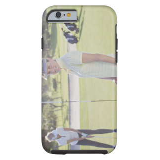 Friends playing golf tough iPhone 6 case