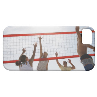 Friends playing volleyball barely there iPhone 5 case