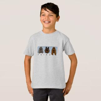 Friends: Spinone Italiano, Tervueren, Bloodhound T-Shirt