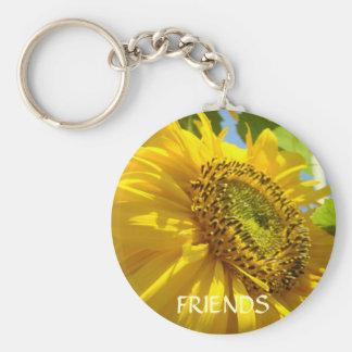 Friends SUNFLOWERS SUN FLOWERS KEYCHAIN Gifts
