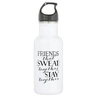 Friends That Sweat Together Water Bottle 532 Ml Water Bottle