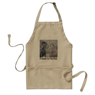 """Friends To The End"" Standard Apron"