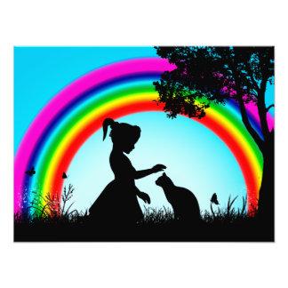 Friends under the Rainbow Photo Art
