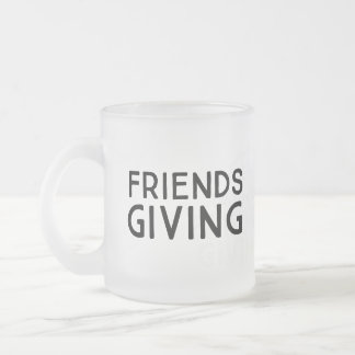 Friendsgiving Frosted Mug