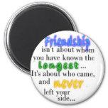 Friendship 6 Cm Round Magnet