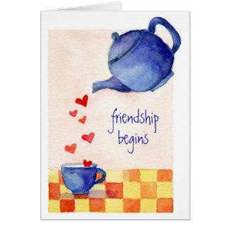Friendship Begins - Card