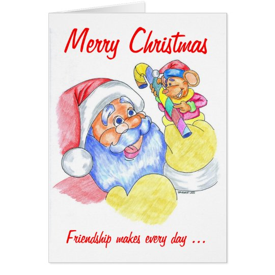 Friendship Christmas Card