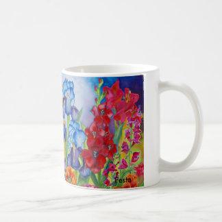 Friendship Flowers coffee mug