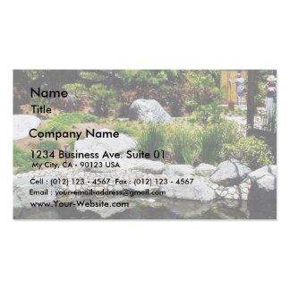 Friendship Garden Balboa Park Pond Pack Of Standard Business Cards