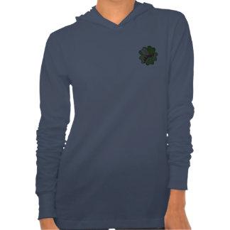 Friendship Gardens Logo- Navy Blue Jersey Hoodie
