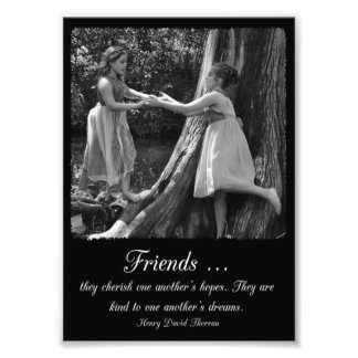 Friendship Henry David Thoreau Quote Photo Print
