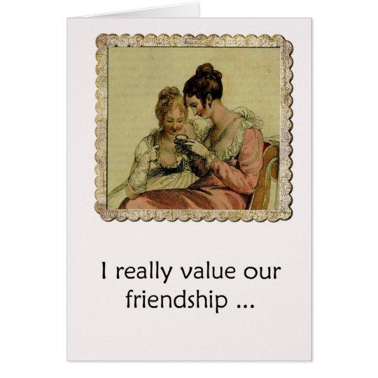 Friendship Humour Edgy Ackerman Vintage Ladies Card