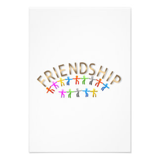 Friendship Personalized Announcement