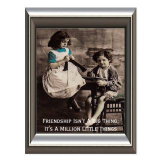 Friendship Isn't A Big Thing Postcard