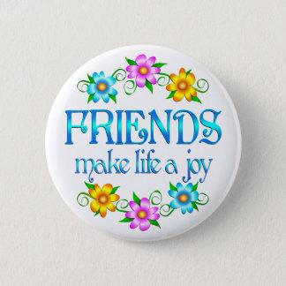 Friendship Joy 6 Cm Round Badge