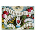 friendship Love and truth Business Cards