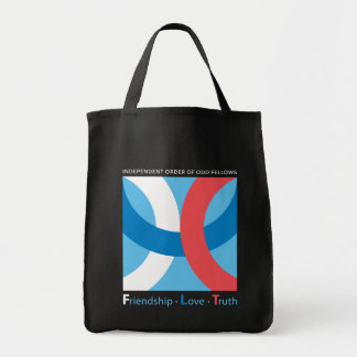Friendship-Love-Truth Tote Grocery Tote Bag