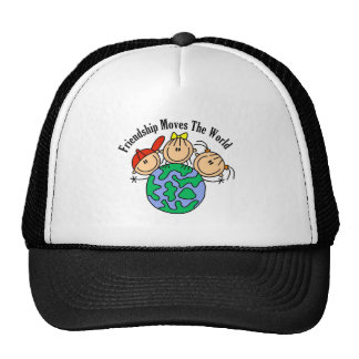 Friendship Moves the World T-shirts and Gifts Cap